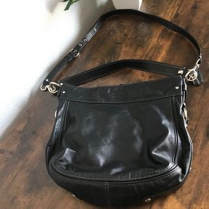 Coach Black Shoulder Bag Handbag Purse